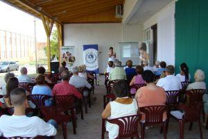 Életfa Egészségdélután, Nyékládháza 2012