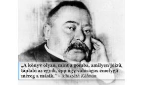 MIKSZÁTH SZÜLETÉSNAPJÁRA