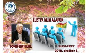 Életfa MLM Alapok képzés Budapesten! 2018. október 6-án!
