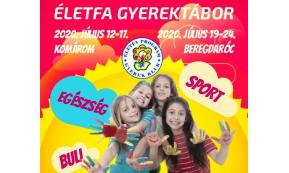 ÉLETFA PROGRAM GYEREK TÁBOR 2020